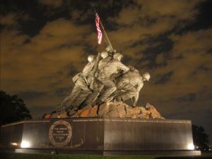 flag-raising-sculpture